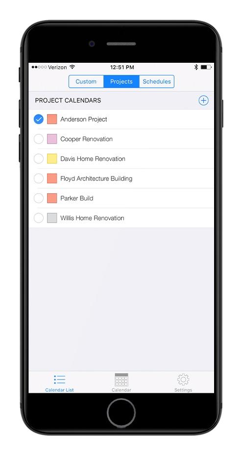 OnSite Calendar - Construction App
