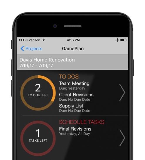 Construction Project Management App - Onsite GamePlan
