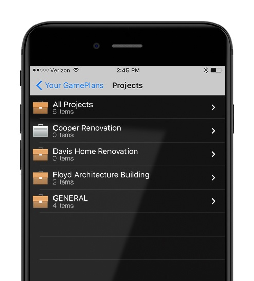 Construction Project Management App - OnSite GamePlan