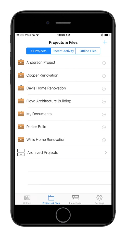 OnSite Video - Construction Mobile App